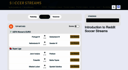 soccerstreams.net