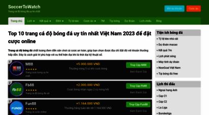 soccertowatch.com - soccer to watch  hot sports news