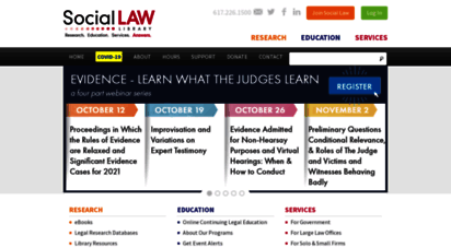 Welcome To Socialaw Com Boston Ma Continuing Legal Education Programs Legal Research Cle Web Design