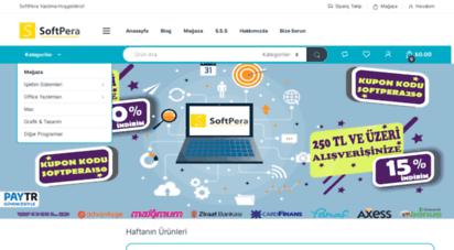 softpera.net - softpera &8211 türkiye&039nin yazılım marketi