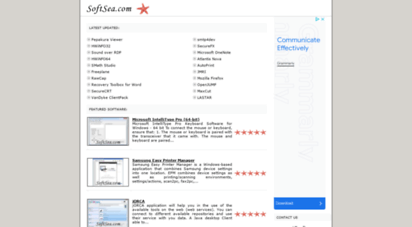 softsea.com - software downloads - softsea