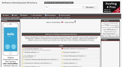 Welcome to Softwaredevelopmentdirectory co uk - Software Development