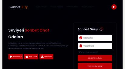 sohbet.city - sohbet city - chat sohbet odaları sohbet sitesi mobil
