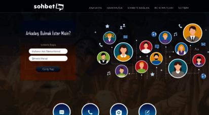sohbetim.com - sohbetim  sohbet, sohbet odaları, chat ve mobil sohbet