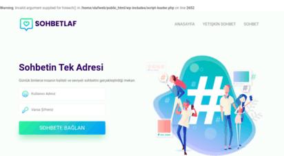 sohbetlaf.com -