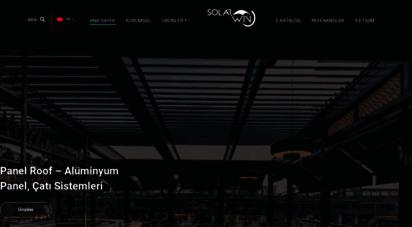 solarwin.com.tr - solarwin: giyotin cam, pergola ve tente, katlanır cam balkon sistemleri