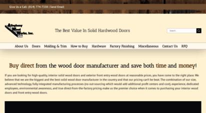 solidhardwooddoors.com - wood doors: interior doors & exterior solid wood doors