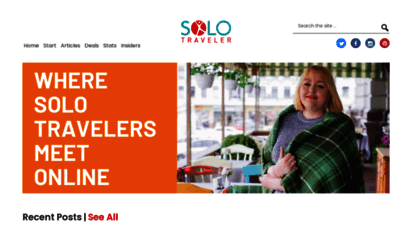 solotravelerworld.com - solo traveler - solo travel tips, safety advice, stories and destinations