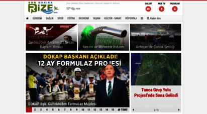 sondakikarize.com - son dakika rize haberleri güncel haber
