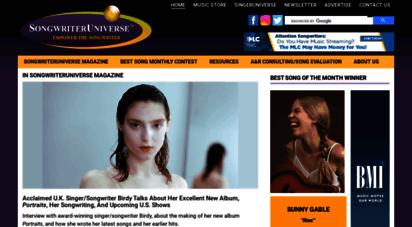 songwriteruniverse.com -
