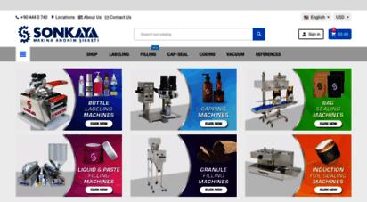 sonkaya.com.tr - sonkaya makina  ambalaj ve paketleme makinaları