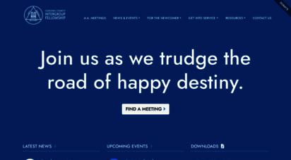 sonomacountyaa.org - aa sonoma county intergroup fellowship  alcoholics anonymous  aa meetings  aa news & events