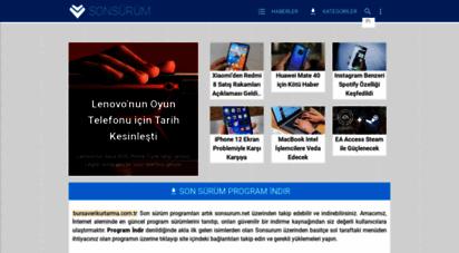 sonsurum.net - program indir - son sürüm yükle - sonsürüm.net