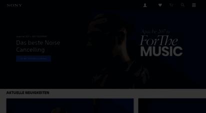 sony.de - sony deutschland  neueste technologie & news  elektronik  unterhaltung  sony de