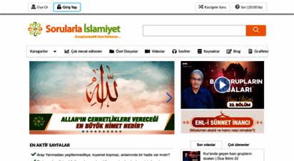 sorularlaislamiyet.com - sorularla islamiyet  cevaplanmadık soru kalmasın