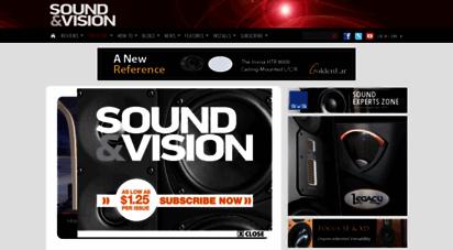 soundandvision.com - home page  sound & vision