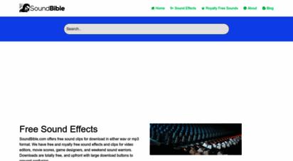 soundbible.com - free sound clips  soundbible.com