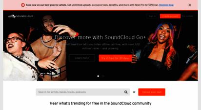 soundcloud.com - soundcloud - listen to free music and podcasts on soundcloud