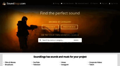 sounddogs.com -