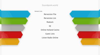 soundpark.world - soundpark.world