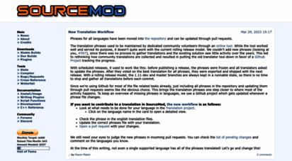 sourcemod.net - sourcemod: half-life 2 scripting