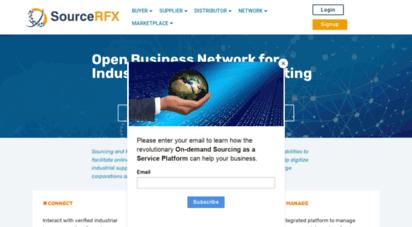 sourcerfx.com - global sourcing, source to pay, supplier collaboration, vendor portal platform  sourcerfx
