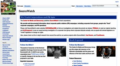 sourcewatch.org - sourcewatch