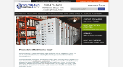 southlandelectrical.com - web site blocked