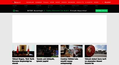 sozcu.com.tr - sözcü gazetesi - türkiye´nin tek gerçek gazete ve son dakika haber sitesi