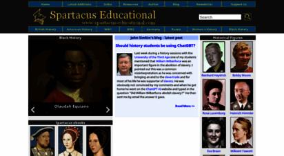 spartacus-educational.com - spartacus educational