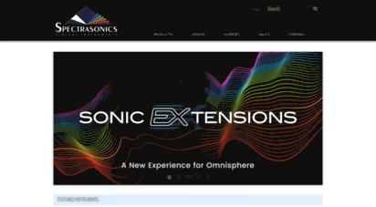 spectrasonics.net - spectrasonics virtual instruments