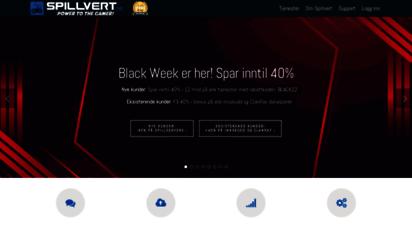 spillvert.no - spillvert.no - norges ledende minecraft-host