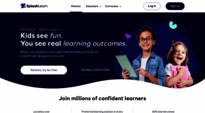 splashlearn.com - splashlearn - fun math practice games for kindergarten to grade 5