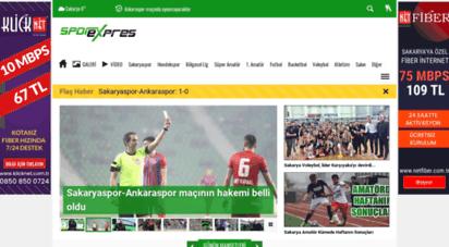 sporexpres.com - spor haberi, spor haberleri  spor´un adresi