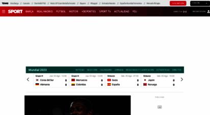 sport.es - sport  noticias del barça, la liga, fútbol y otros deportes