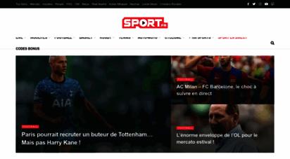 sport.fr - sport en direct sur sport.fr : plus de 100 sports en live !