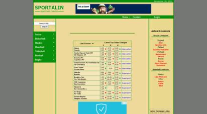 sportalin.com - sportalin - sport info in links