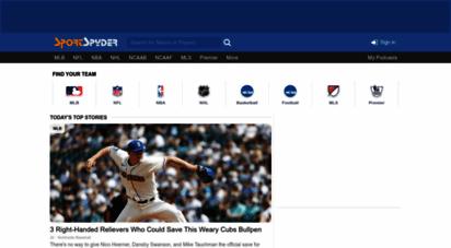 sportspyder.com - sports news, tweets, rumors and articles  sportspyder