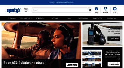 sportys.com - sporty´s home page