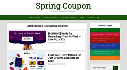 springcoupon.com -