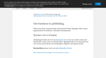 springer.com - springer - international führender wissenschaftsverlag