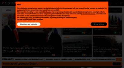 sputniknews.com - sputnik news - world news, breaking news & top stories