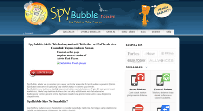 spybubbleturkey.com -