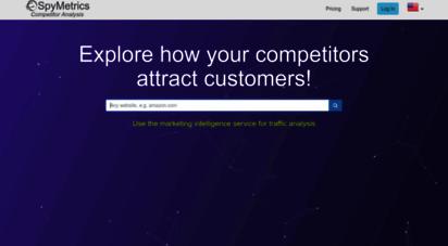 spymetrics.ru - spymetrics - маркетинговая разведка и анализ конкурентов