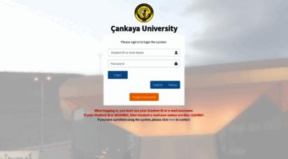 sql.cankaya.edu.tr -