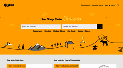 Welcome to Ssoadmin yellowpages ca - Find local businesses, products
