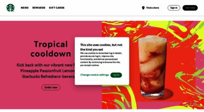 starbucks.com - starbucks coffee company