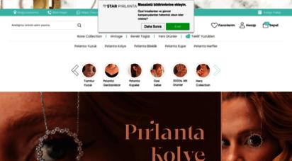starpirlanta.com.tr - star pırlanta - pırlanta kolye küpe tektaş yüzük ve bileklik modelleri