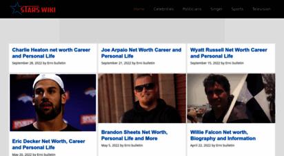 starswiki.net - starswiki - biography of famous personalities