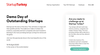 startupturkey.com - startup turkey  etohum